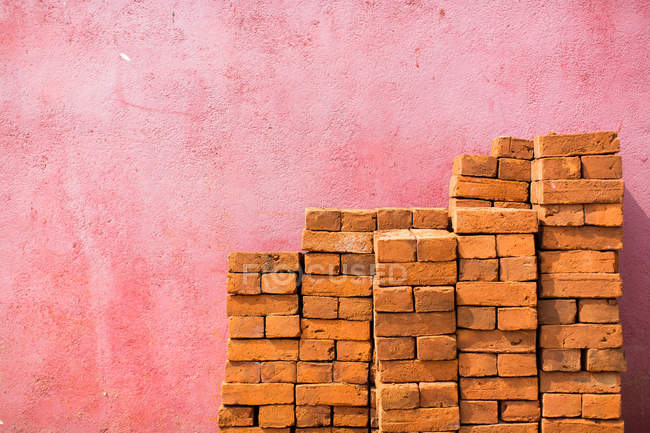 View of Bricks in Negombo — Stock Photo