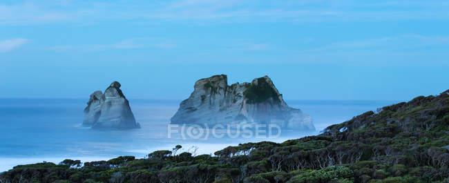 Notte a Wharariki Beach — Foto stock