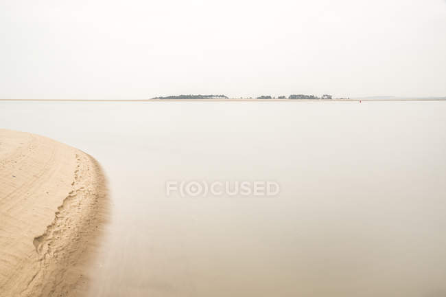 Ansicht von Holkham Beach — Stockfoto