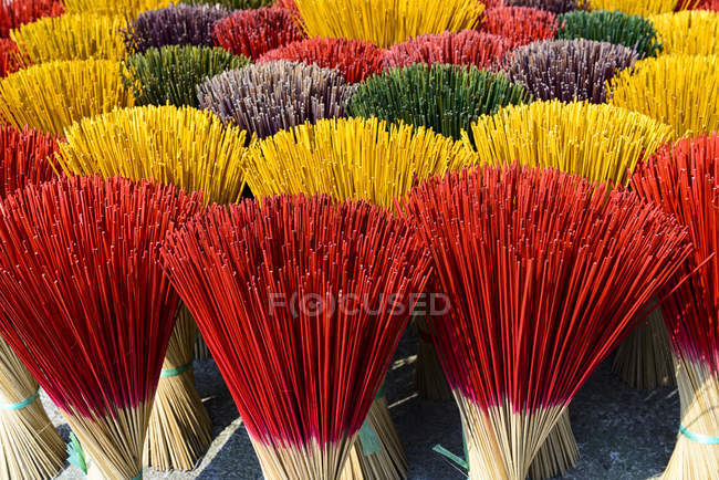 Incense sticks drying — Stock Photo
