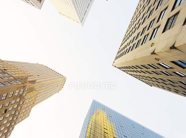 Arranha-céus de Nova york — Fotografia de Stock