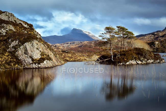 View of Scottish Highlands — Stock Photo