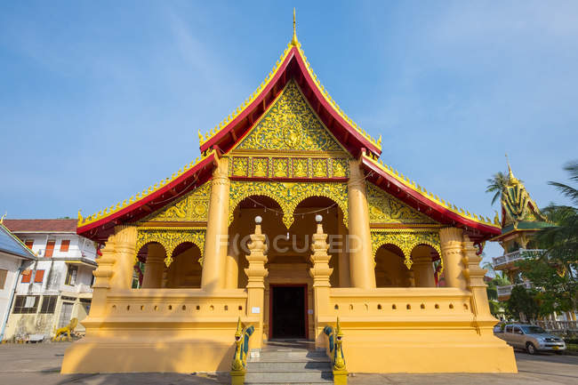 View of Buddhist temple — Stock Photo