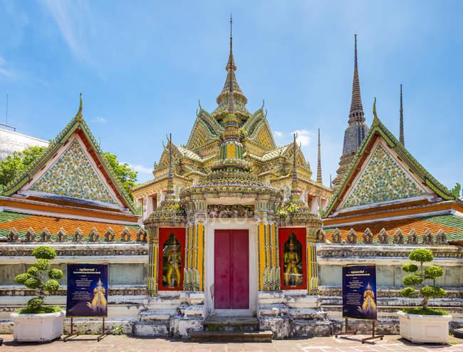 Ansicht des Tempels Wat Pho — Stockfoto