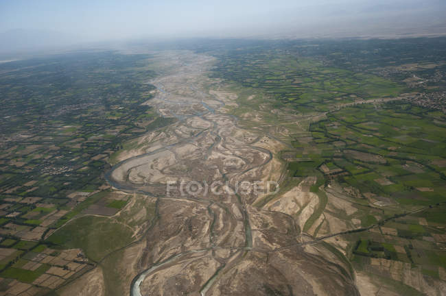 Afghanistan landscape from the Herat-Kabul — Stock Photo