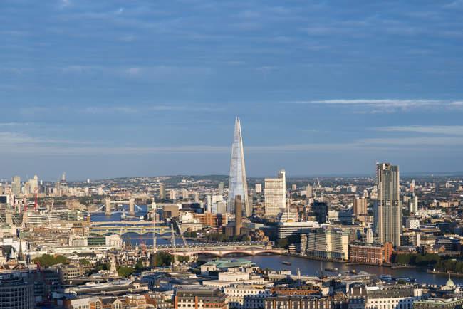 Londra e sul Tamigi — Foto stock