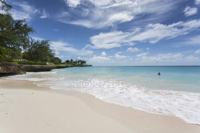 Welches Beach in Oistins — Stock Photo