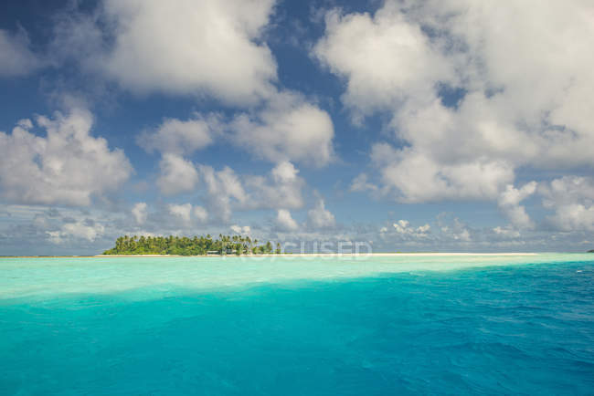 Лагуна Уоллис в Тихоокеанском регионе — стоковое фото