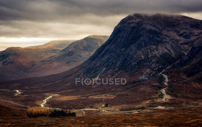 View of Buchaille Etive Mor — Stock Photo