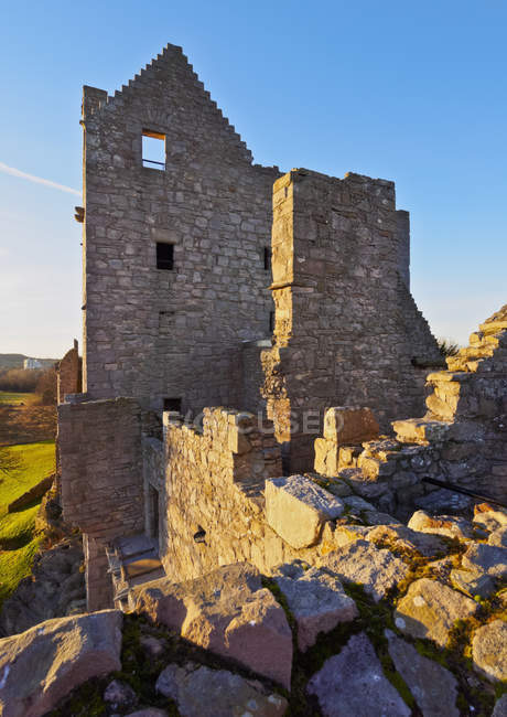 View of Craigmillar Castle — Stock Photo