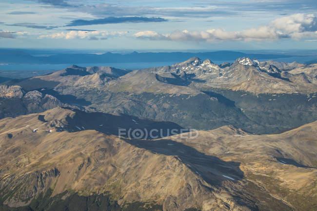 Aerial view of Tierra del Fuego — Stock Photo