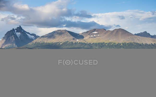 View of Tierra del Fuego — Stock Photo