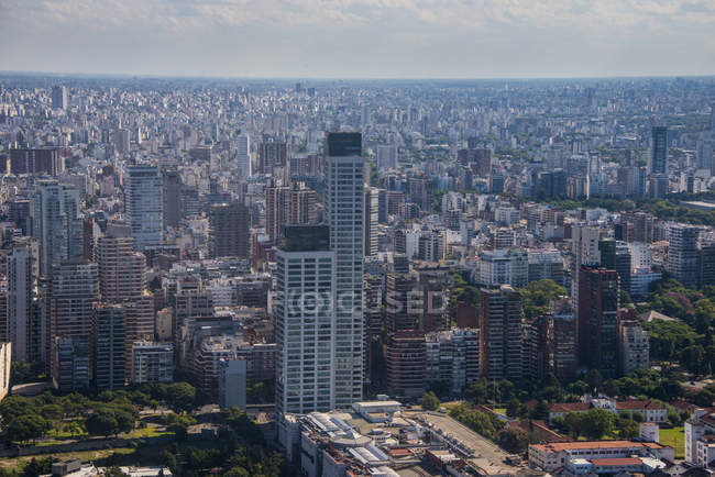Aerial view of Buenos Aires — Stock Photo