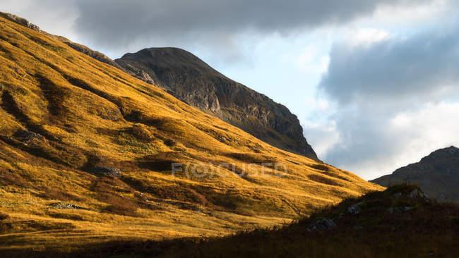 Mountain light at Glencoe — Stock Photo