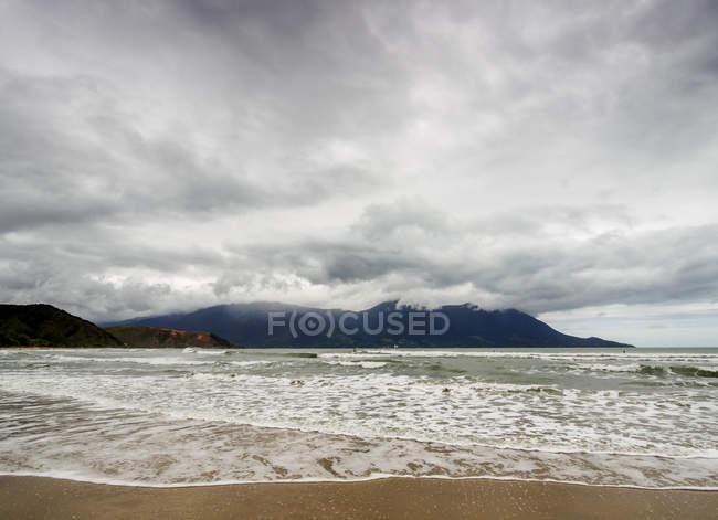 Vista della spiaggia di Maresias — Foto stock