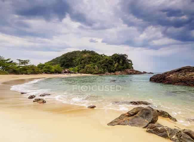 Vista de playa Cachadaco - foto de stock