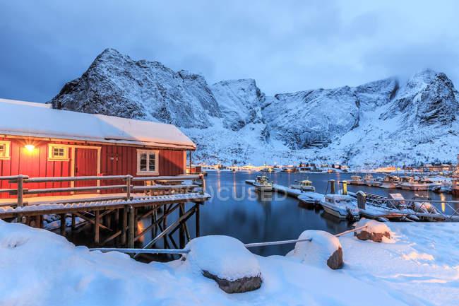 Typische norwegische Heimat — Stockfoto