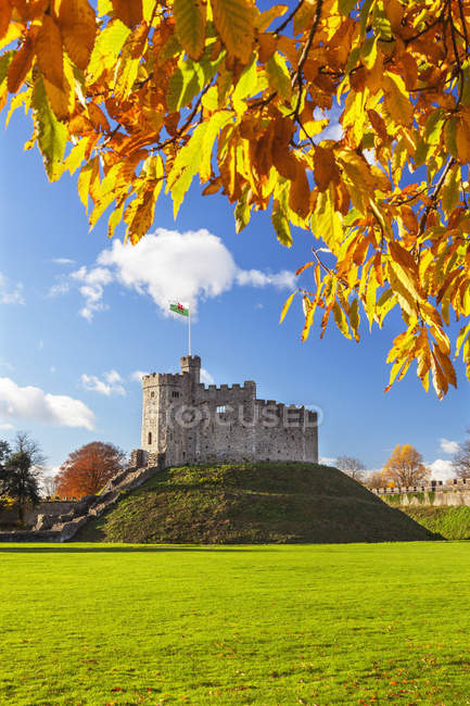 Norman Keep in autunno — Foto stock