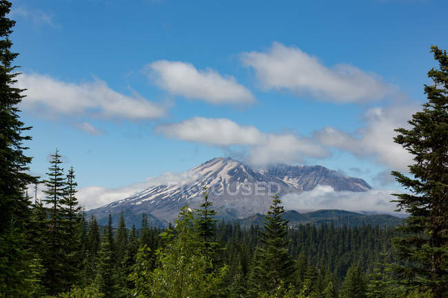 Clouds over Mount St. Helens — Stock Photo