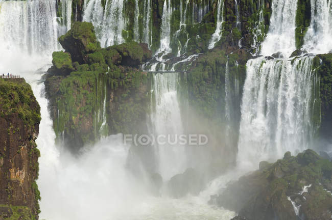 Iguazu Falls from Argentinian side — Stock Photo
