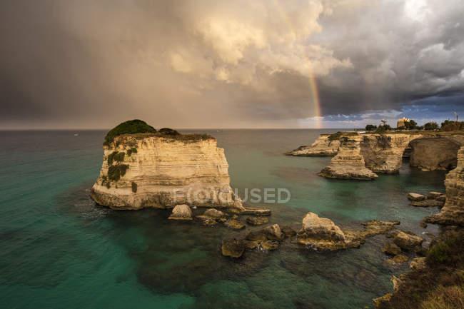 Falésias de frames do arco-íris — Fotografia de Stock