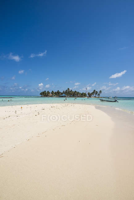 Beautiful island, El Acuario, San Andres — Stock Photo