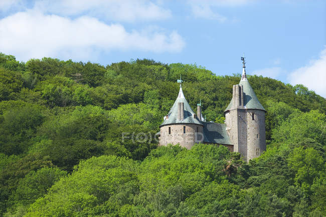 Castell Coch, Red Castle — Stock Photo