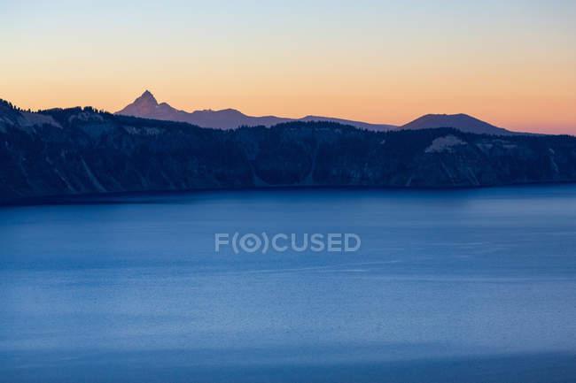Озеро Крейтер, Сполучені Штати Америки — стокове фото
