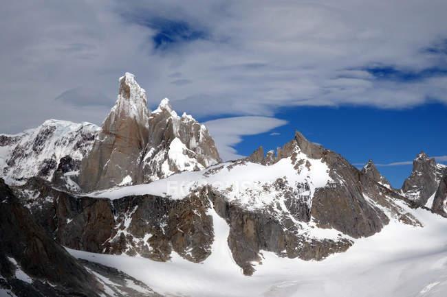 Cerro Torre, El Chalten Massif — Stock Photo