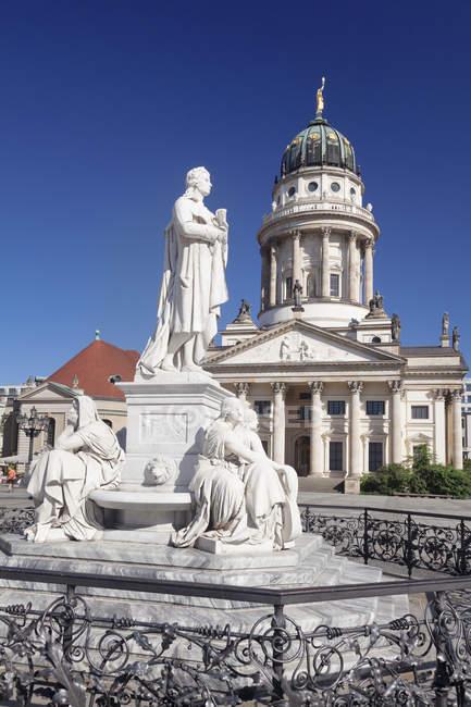 Французький собору, Берлін — стокове фото
