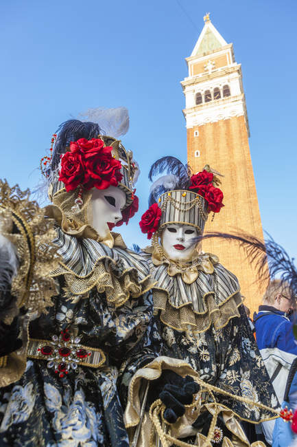 Carnival of Venice, famous festival worldwide — Stock Photo