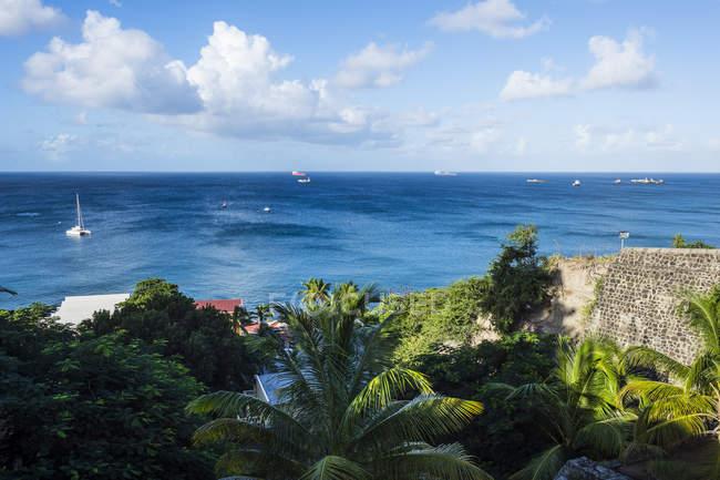 Oranje Bay, Oranjestad capital — Photo de stock