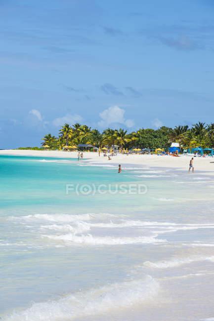 Мирового класса мелководье залива Восточный пляж — стоковое фото