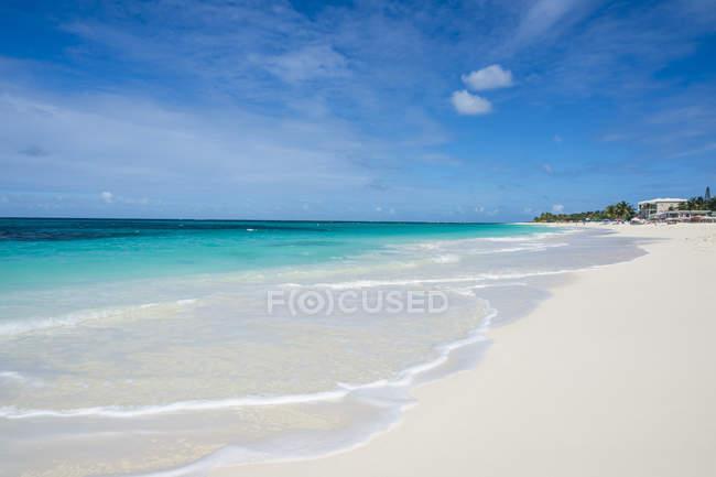 Отмель залива Восточный пляж — стоковое фото