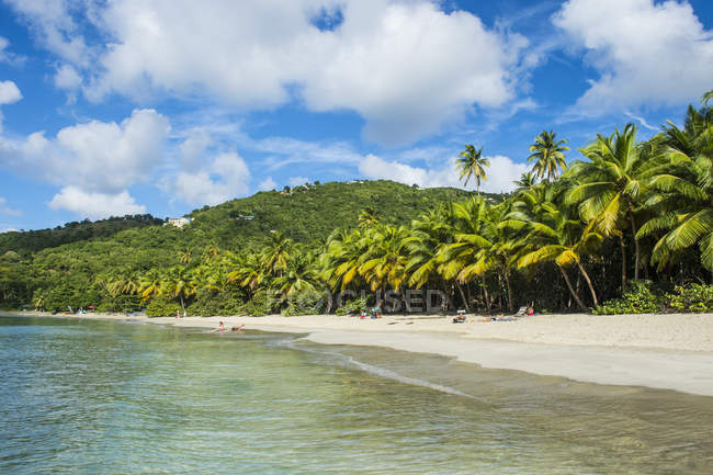Brewers Bay, Tortola — Stock Photo