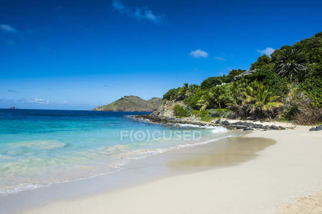 Flamand Beach, Saint Barthelemy — Stock Photo