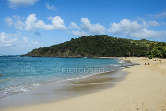 St. Martin, French territory — Stock Photo