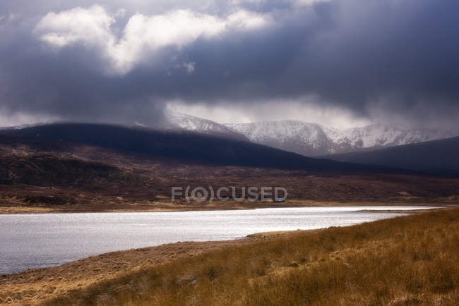 View of Stormy Scottish Highlands — Stock Photo