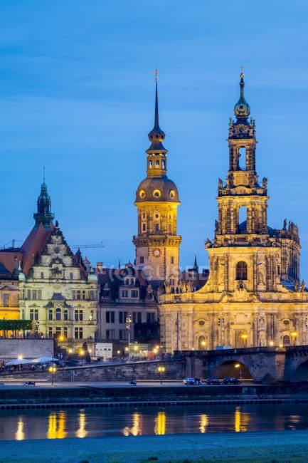 Дрезден, Саксонія, Німеччина — стокове фото