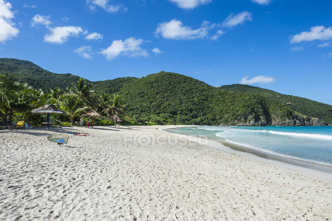 Beach on Josiah Bay, Tortola — Stock Photo