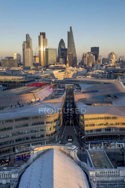 City skyline, London — Stock Photo