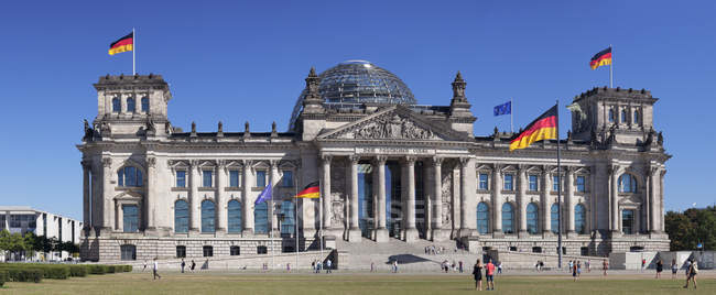 Reichstag Parlamentsgebäude — Stockfoto