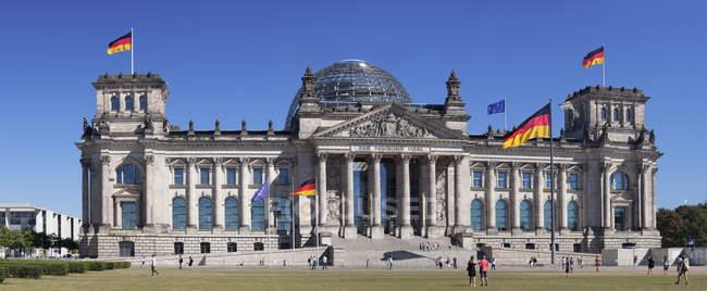 Edifício do Parlamento Reichstag — Fotografia de Stock