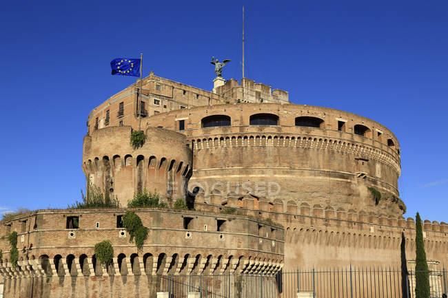 Castel Sant'Angelo, Rome, Lazio — стокове фото