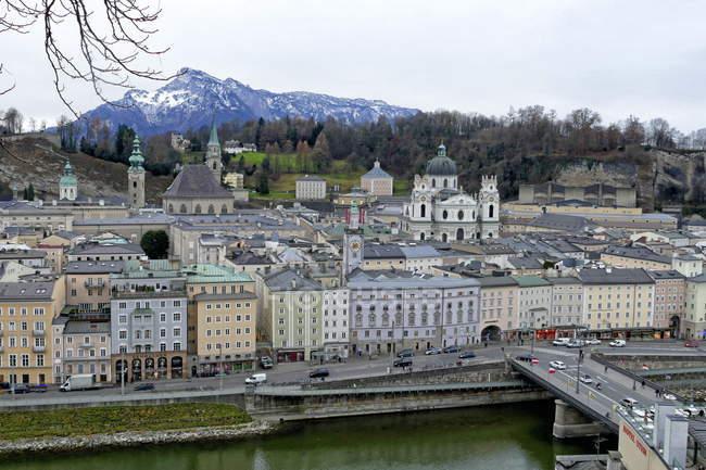 Старе місто, Зальцбург, Австрія — стокове фото