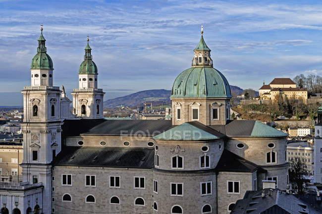 Кафедральний собор Зальцбурга, Австрія — стокове фото