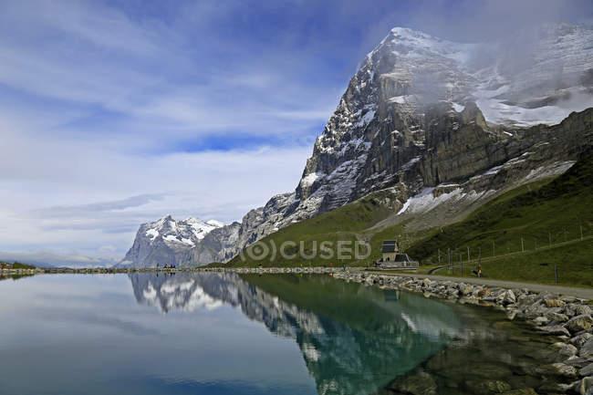 Lake Fallboden, Schweiz — Stockfoto