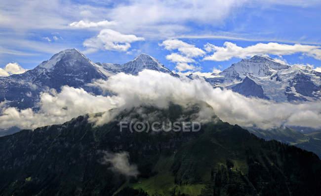 Eiger, Monch and Jungfrau, Switzerland — Stock Photo