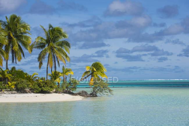Laguna di Aitutaki, Rarotonga e Isole Cook — Foto stock