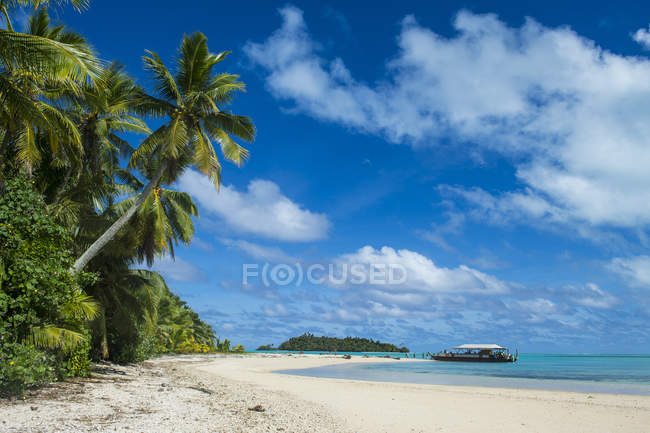 Aitutaki Lagune, Rarotonga und die Cook-Inseln — Stockfoto